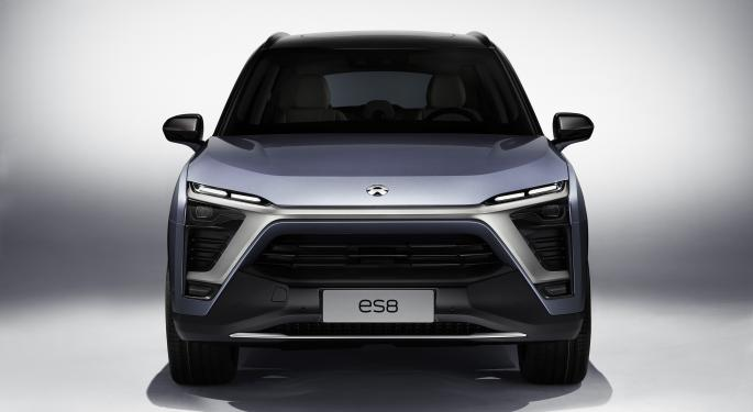 Nio Shares Trade Higher On Report of Chinese Factory Deal Talks