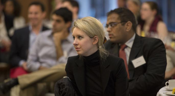 Theranos' Founder Owes Her Company $25 Million