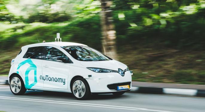 'It's A Huge Deal': Delphi Buys Autonomous Startup nuTonomy