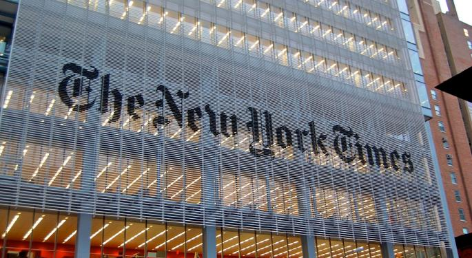 How The New York Times Has Performed During The Trump Presidency