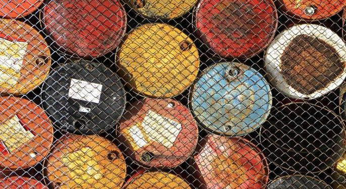 Oil's Slump Continues