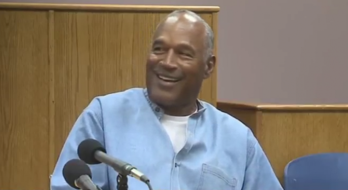 O.J. Walks: The Heisman Winner-Turned-Accused Killer Granted Parole In Robbery Case