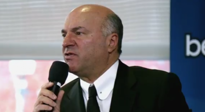 Kevin O'Leary's Advice To Young Entrepreneurs: Work For A Competitor