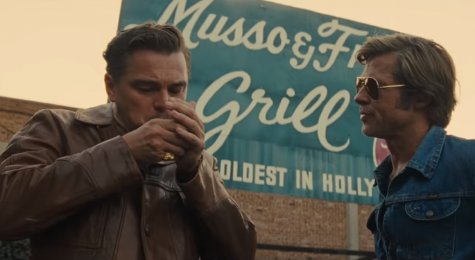 Tarantino Scores His Biggest Opening With 'Once Upon A Time... In Hollywood'