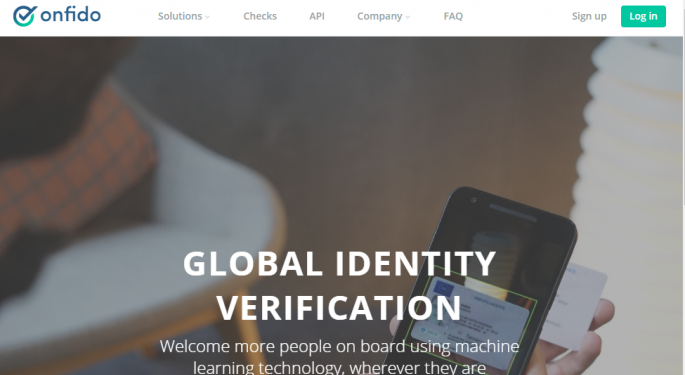 Onfido: Delivering Next Generation Identity Verification For The Financial Services Industry