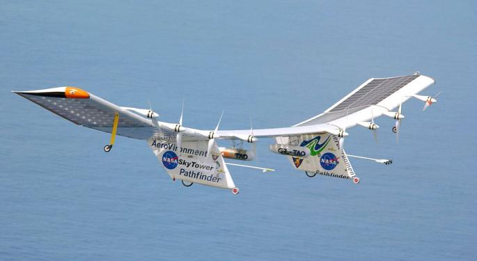 Stifel Downgrades AeroVironment, But Continues To Have 'Positive Bias' On Stock