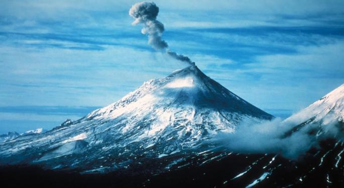 Alaskan Volcano Raises USGS Alert, Causes Dozens Of Flight Cancellations Affecting Tens Of Thousands