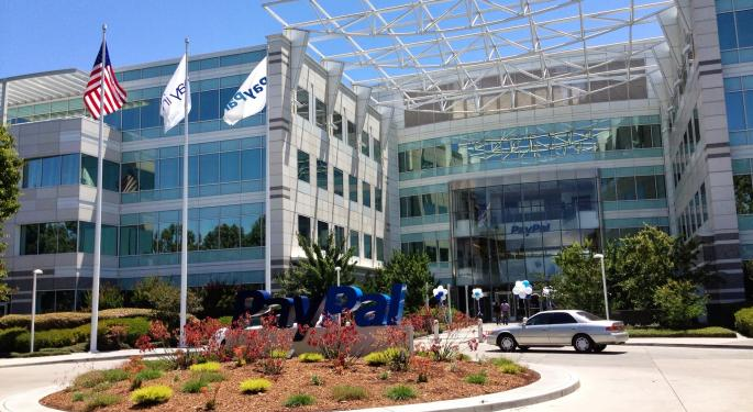 Bob Peck Previews PayPal's Q3 Results: 'Investors Likely To Focus On Impact Of V/MA Deals'