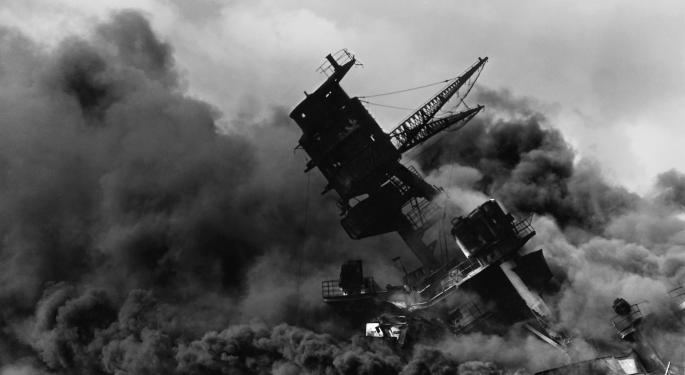 On This Day In Market History: The Attack On Pearl Harbor