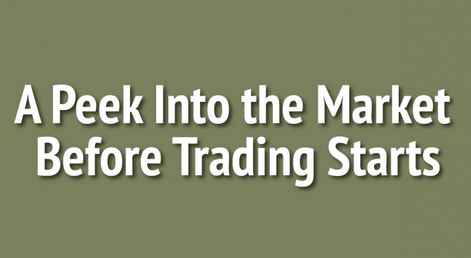 US Stock Futures Flat Ahead Of Economic Data, Wal-Mart Earnings