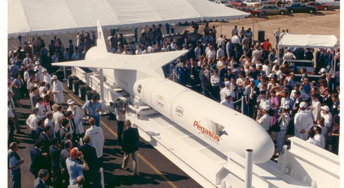 Orbital ATK Up 20% On News Of Northrop Grumman Deal