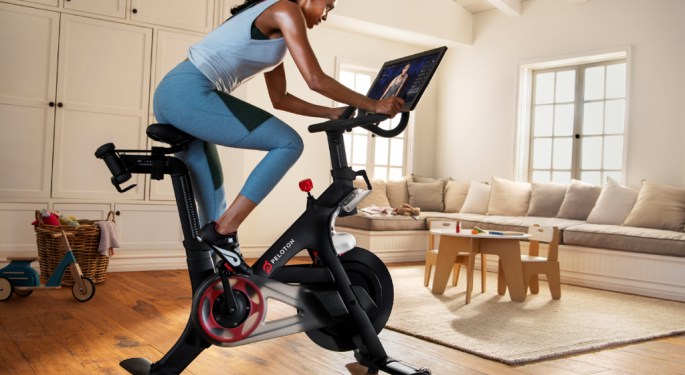 Peloton Reports First Sales Beat As A Public Company