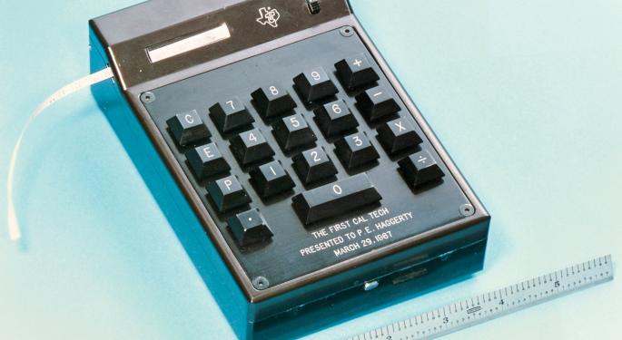 The Texas Instruments Bull Thesis Continues To Play Out