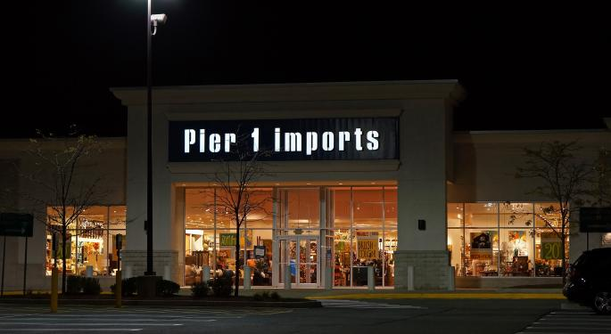 Pier 1 Imports Plummets After Big Q4 Earnings Miss, Appoints Interim CFO