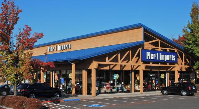 Pier 1 Falls Off The Deep End With 'Distressing' Q4 Report
