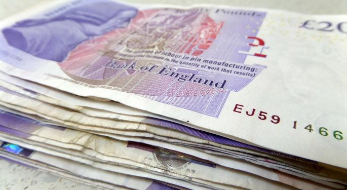 British Pound Falls Ahead Of Next Week's Election
