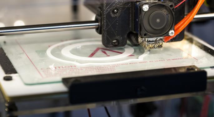 Printer Error Stalls 3D Systems In Q1