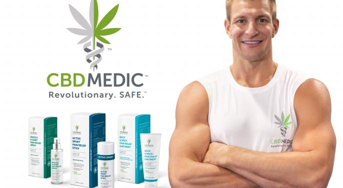 Rob Gronkowski Enters CBD Space With Abacus Partnership