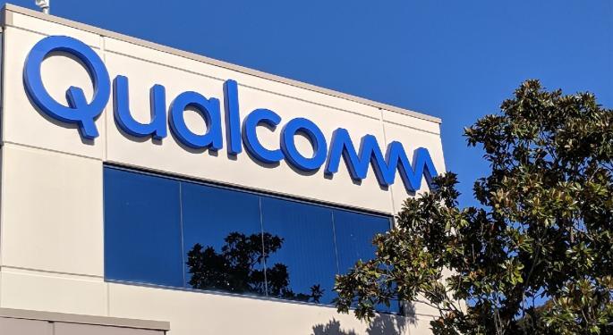 Qualcomm Trades Higher As Justice Department Intervenes In Patent Case