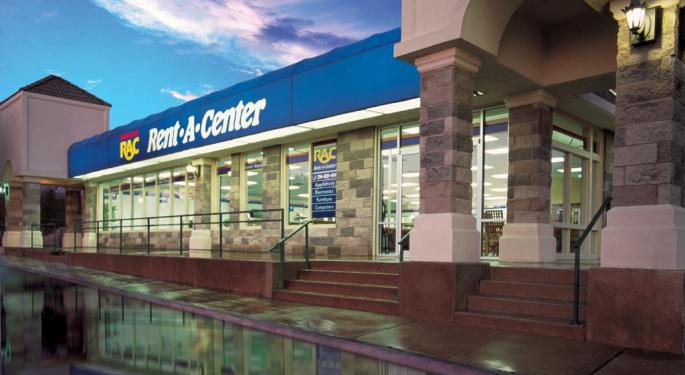 Raymond James Upgrades Rent-A-Center, Sees Higher Upside