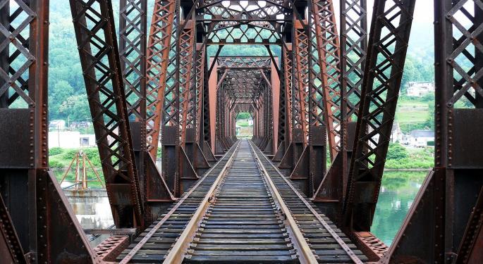 North American Rail Volumes Slip Over 2 Percent