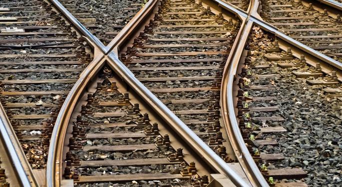 US Rail Employment Tumbles