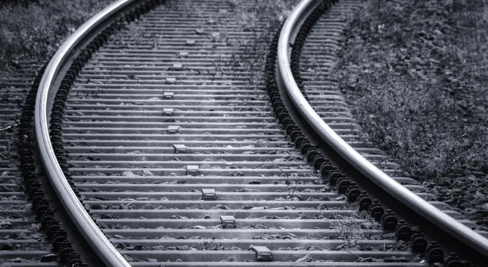 Union Pacific Train Derails At Illinois Rail Yard
