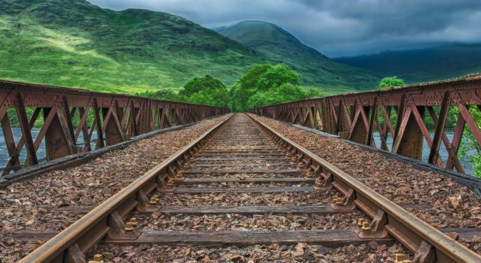 U.S. Rail Volumes Drift Lower