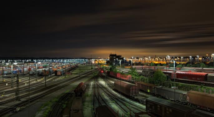 Trucking And Rail Stocks React To Low Guidance From Their Peers