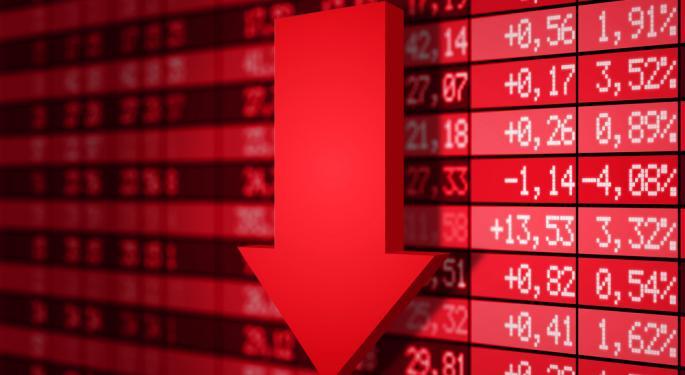 Stocks Fall to End Week, Dow Down Triple Digits