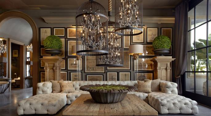 Restoration Hardware Analyst Neutral After Q4 Print, Sees 'Widening Competitive Moat'