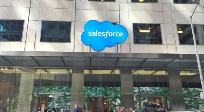 Salesforce Trades Higher After Big Q1 Earnings Beat