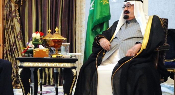 After The Death Of Saudi Arabia's King Abdullah, Watch Crude Oil & This ETF