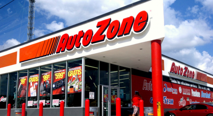 Underneath The Hood: AutoZone Shows 17 Percent Upside