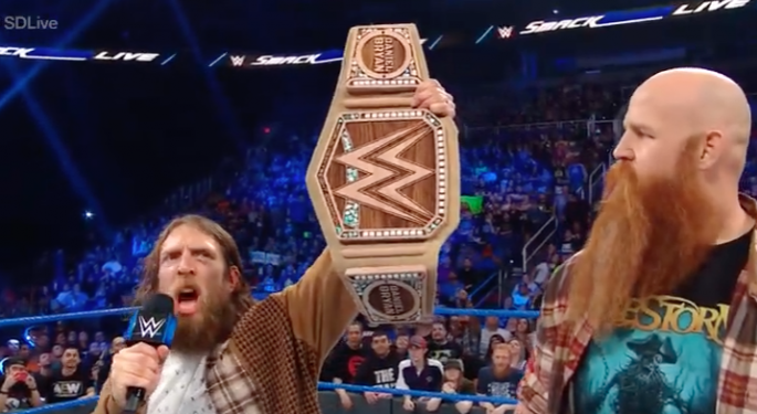 Hemp Is Getting So Popular Even The WWE Championship Belt Is Now Made Out Of It