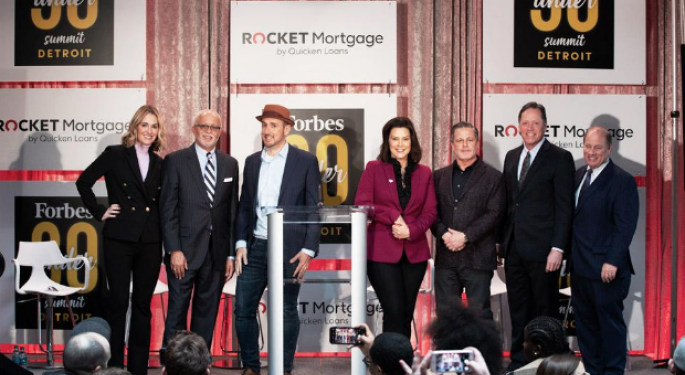 'Validation Of The City And Region's Exciting Momentum': Dan Gilbert's Rocket Mortgage Brings Forbes' Under 30 Summit To Detroit