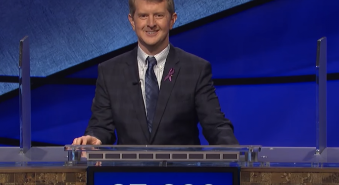 Ken Jennings One Win Away From Becoming Jeopardy's 'Greatest Of All Time'