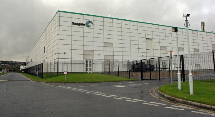 Seagate's Path Will Get Much Tougher From Here; Barclays Downgrades To Underweight