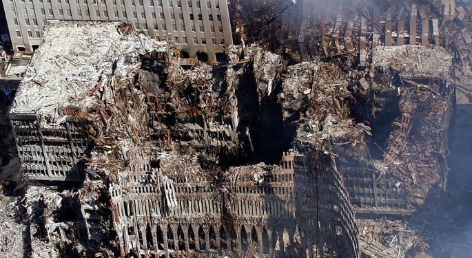 This Day In Market History: US Markets Close Following 9/11 Attack