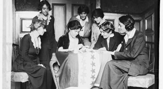 This Day In Market History: 19th Amendment Grants Women The Right To Vote