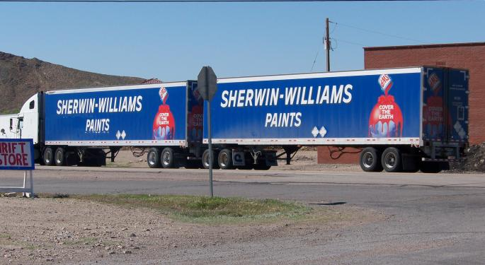 Why Some See A 16% Return In Sherwin-Williams Shares In A Year's Time