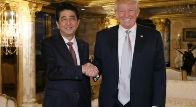 President-Elect Trump Could Be A 'Shot In The Arm' For Japan And EU