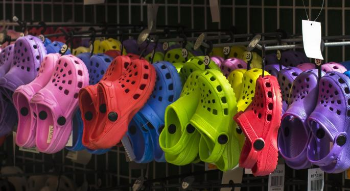 Crocs Gets An Upgrade On High Warm-Weather Demand