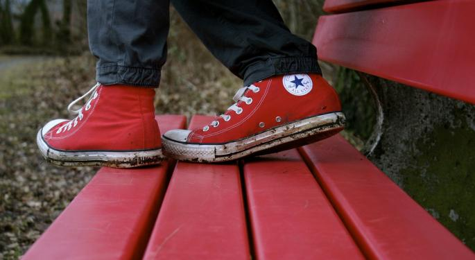 Teens Find 100-Year-Old Converse To Be Cooler Than Under Armour