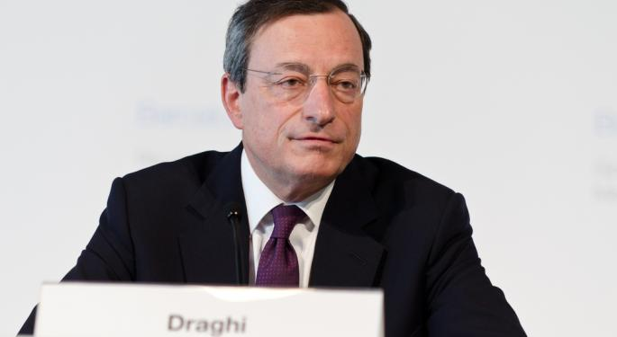 Stocks Slammed as Draghi Says Germany Slowing