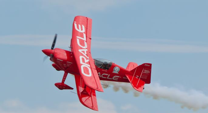 Oracle's Future May Be In The Cloud, But Its Q3 Results Weren't Sky-High