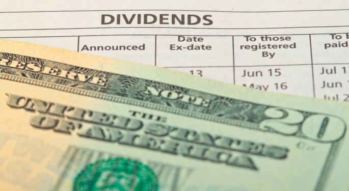 5 Stocks Paying Big Dividends