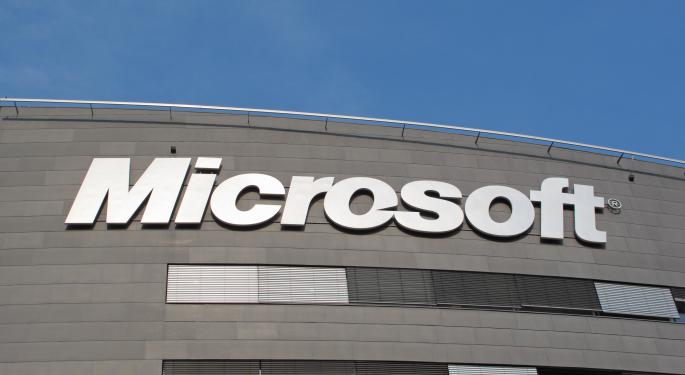 Microsoft Hit a Five Year Intraday High Monday - Where's it Going Next?