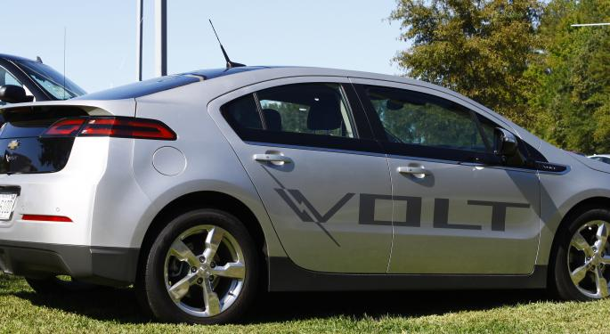 General Motors Slashes Chevy Volt Price By $5,000 To Boost Sales GM