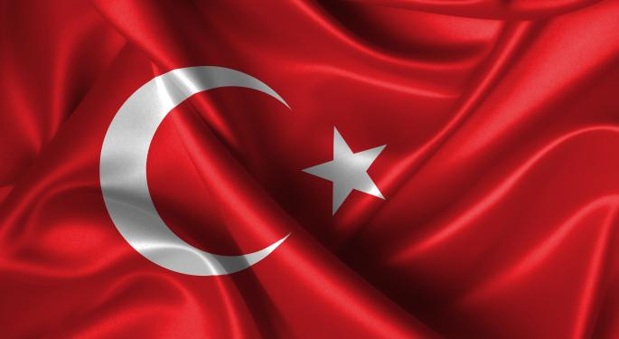 Turkey ETF Hits New High on Credit Rating Chatter